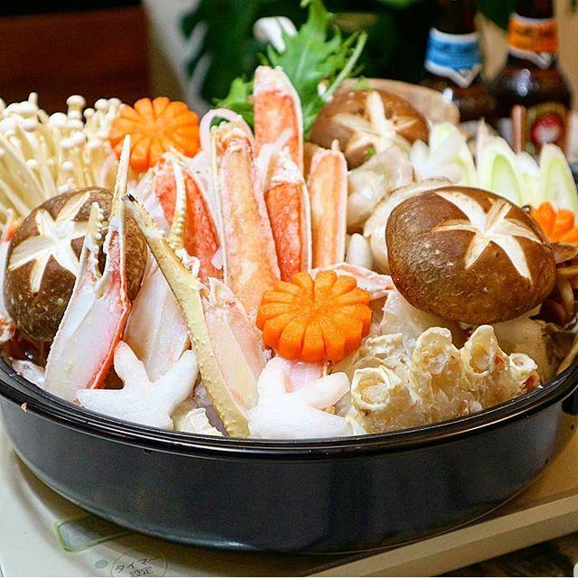 冬に食べたい料理。カニすき鍋