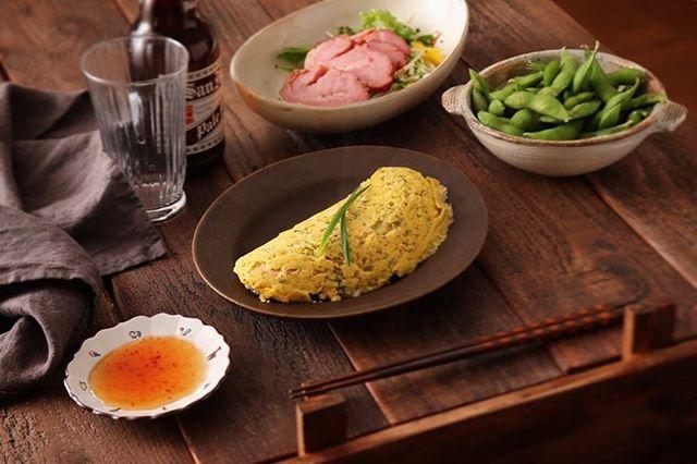 美味しい卵料理。エスニックオムレツ