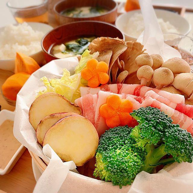 野菜たっぷりの夕飯☆メイン野菜だけ4