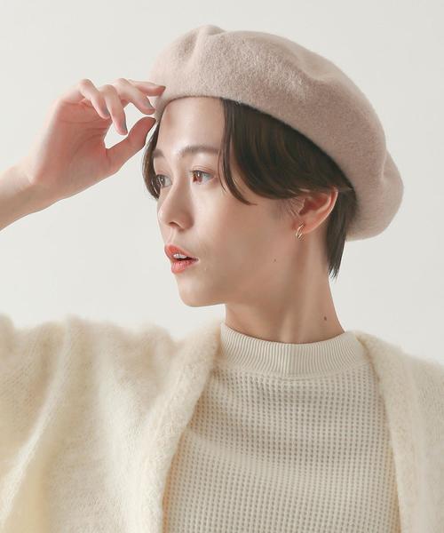 [coen] 【ムック本掲載】シンプルベレー帽