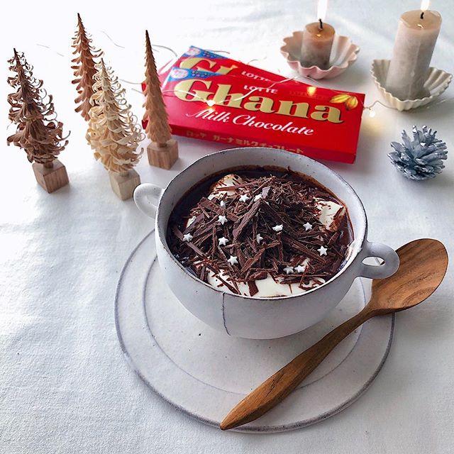 人気のドリンクレシピ!ホットチョコレート