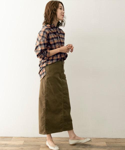 気分に合わせて選べる大人の秋ファッション【スカート】
