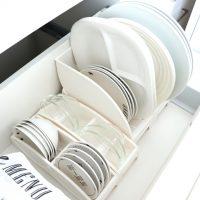 【ニトリetc.】のアイテムを使った食器収納!お金をかけずに整理整頓しよう!