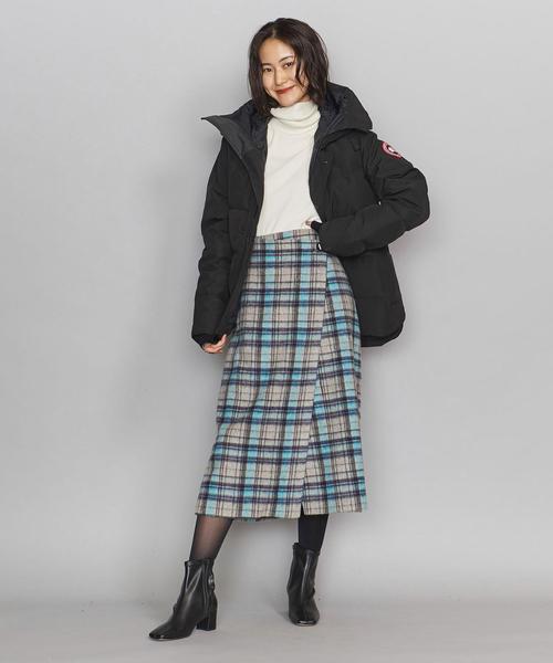 大阪|12月服装|ダウンコートコーデ