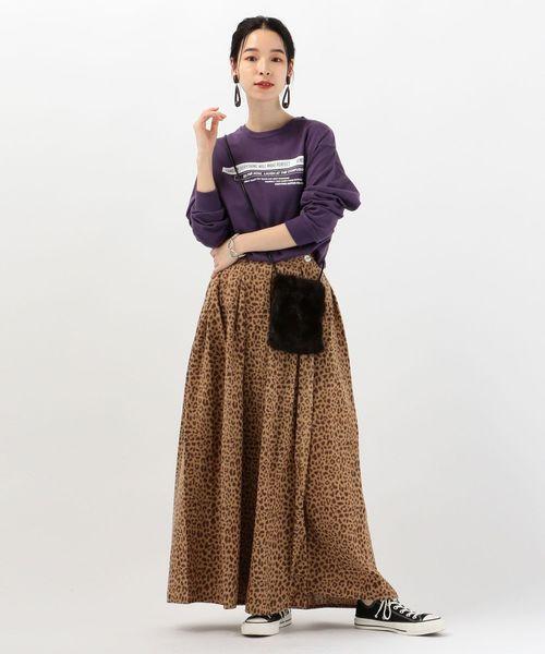 [SHIPS for women] UHURU:ラップスカート