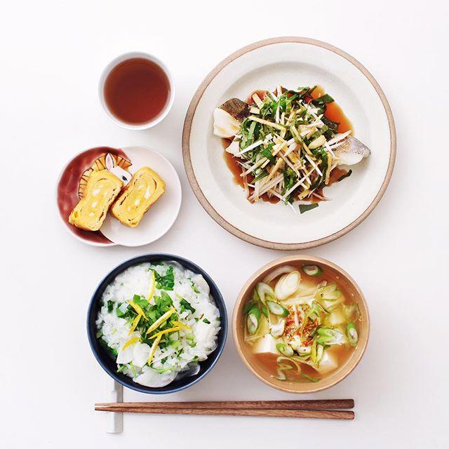 理想の朝ごはんで健康的なメニュー☆和食・魚3
