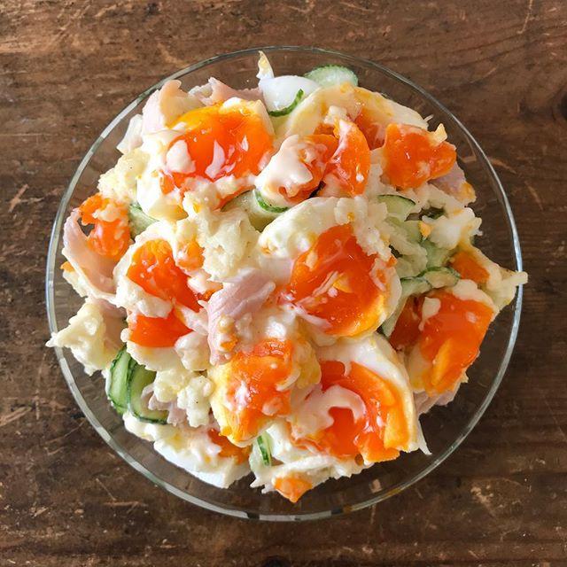 献立の人気レシピ!たっぷり卵のポテトサラダ