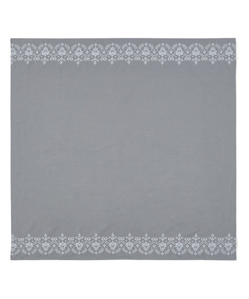 [Francfranc] チャオット テーブルクロス グレー(1300×1300)