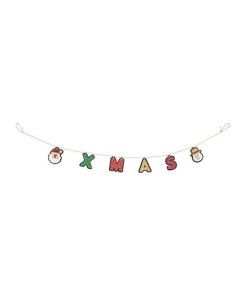[MARK'S] クリスマス 刺繍ガーランド