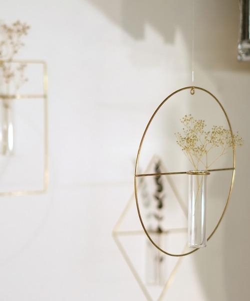 [Global Forme Concrete] PIKE wall vase 壁掛け 花瓶