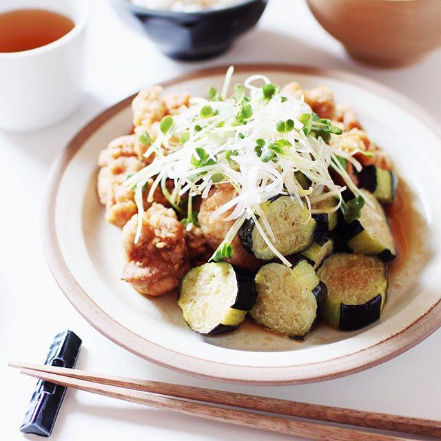 秋茄子の美味しい簡単レシピ☆揚げ物3
