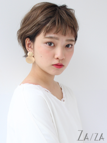 短め前髪×ショート【パーマ】5