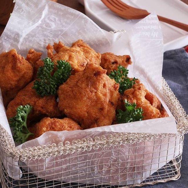 鶏むね肉で簡単!節約ナゲット