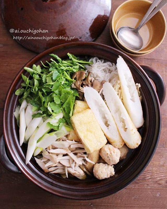 秋田名物。美味しいきりたんぽ鍋