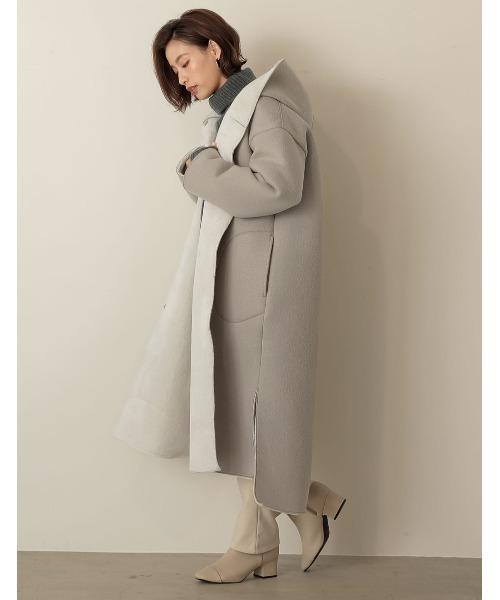 ボンディングフードコートの服装