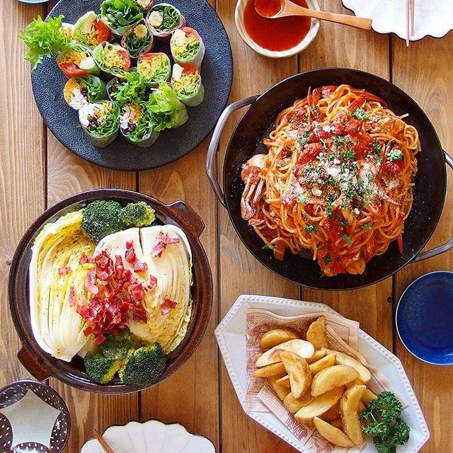 誕生日の献立に人気の手作りレシピ☆麺類3