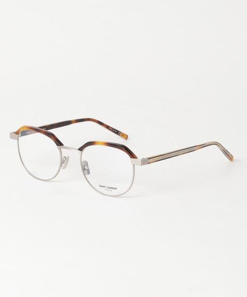 [GLASSMANIA -Tokyo Aoyama-] 【SAINT LAURENT/サンローラン】ラウンド メガネ SL124 002