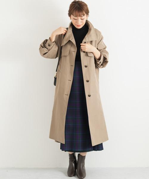 大阪|12月服装|トレンチコートコーデ
