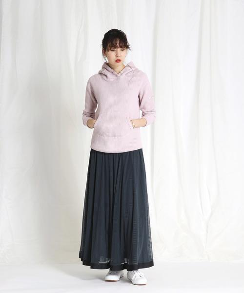 [DRESSLAVE] Sugar Rose / stripe tulle reversible skirt(ストライプチュールリバーシブルスカート)