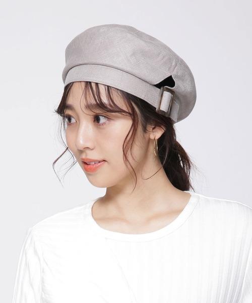 ベレー帽に似合うロングヘアアレンジ【春夏】5