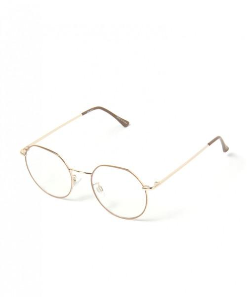 [niko and...] オリジナル伊達眼鏡 細リムクラウンパント