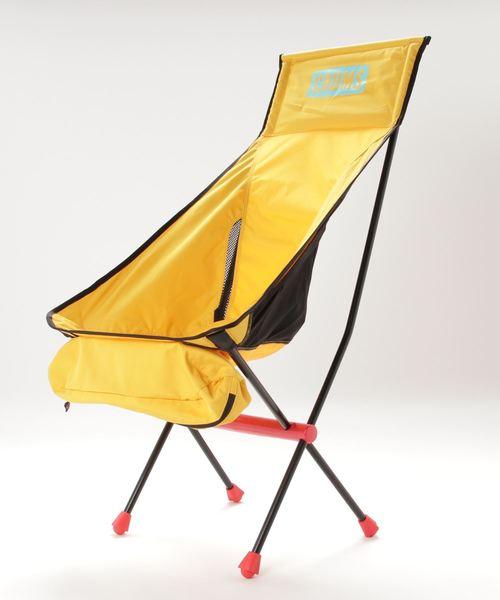 [GREEN SUMMIT] 【CHUMS / チャムス】Folding Chair Booby Foot High  フォールディングチェアーブービーフットハイ キャンプ用折りたたみチェアー