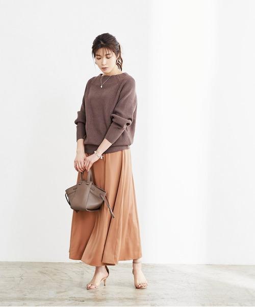 [ur's] フレアサロペットスカート