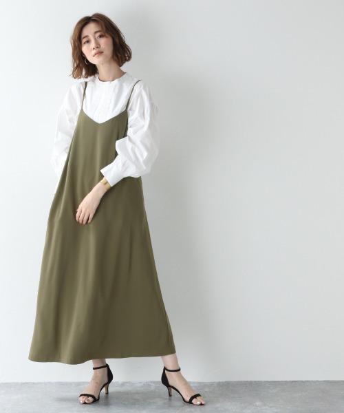 [apart by lowrys] Poキャミフレアワンピース 914741