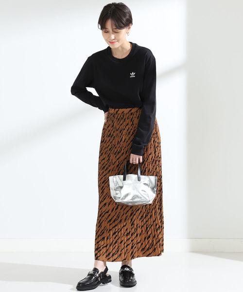 [BEAMS WOMEN] 【WEB限定】adidas / TREFOIL ロングスリーブ Tシャツ