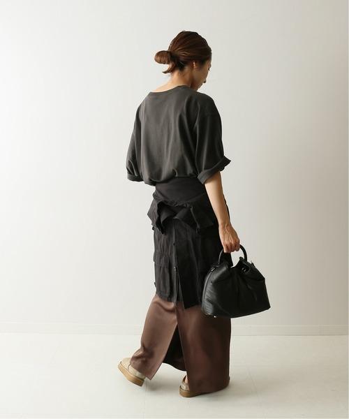 [Spick & Span] ヘビーサテンタイトスカート◆