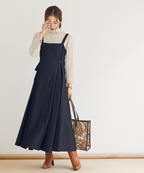 [archives] タックフレアージャンパースカート