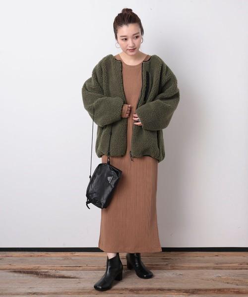 【名古屋】12月のワンピースを使った服装
