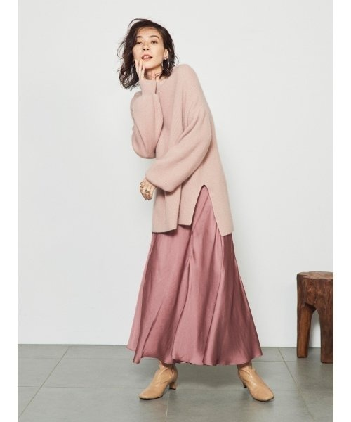 [SNIDEL] ニットスカートセットアップ