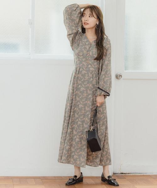 [mysty woman] 【WEB限定アイテム】レインボーワンピース 916034
