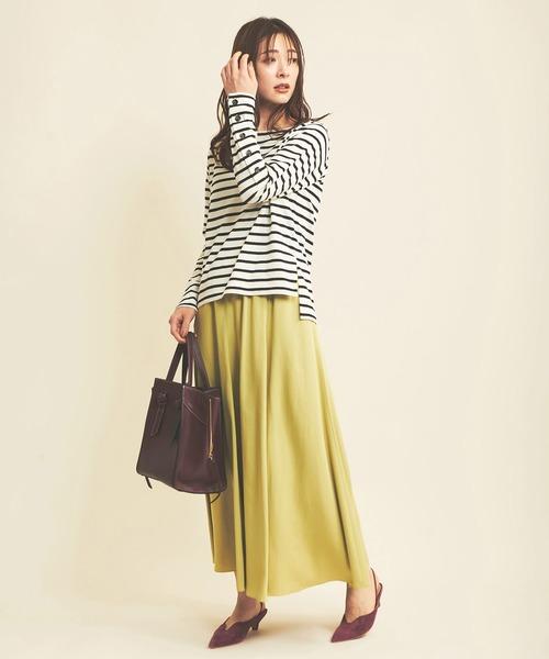 秋のレディースファッション【スカート】2