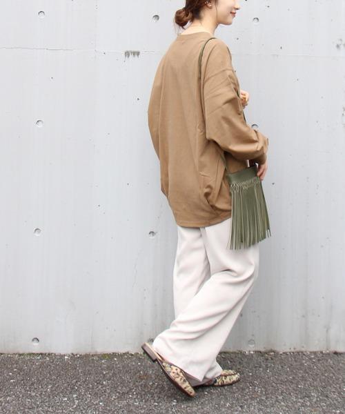 [JOURNAL STANDARD] タックスウェットシャツ◆