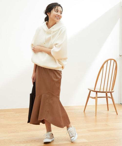 [ViS] エコレザーマーメイドスカート