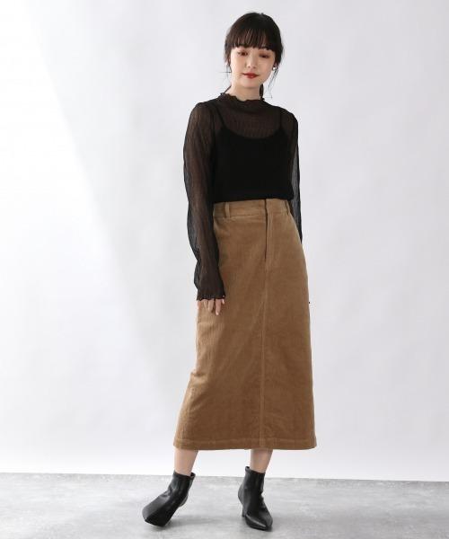 大人のデイリーコーデ【スカート】