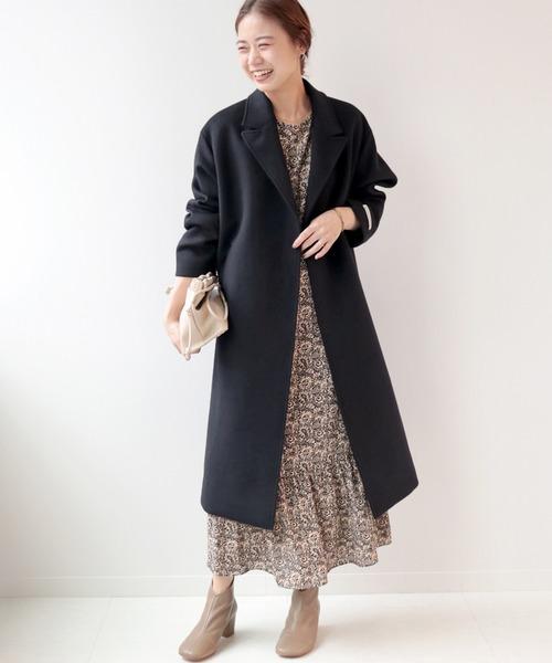 【名古屋】12月のワンピースを使った服装4