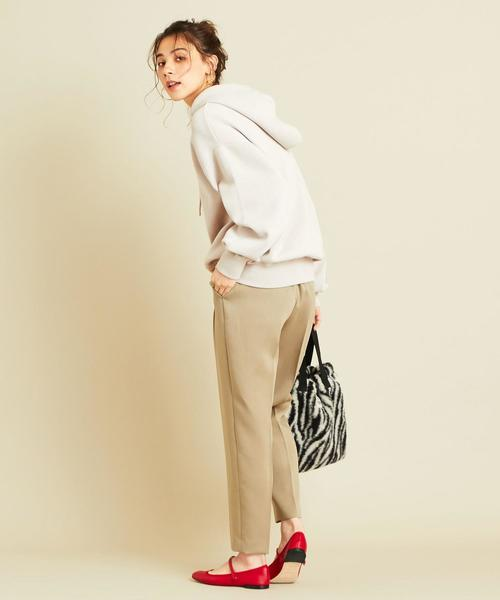 [BEAUTY&YOUTH UNITED ARROWS] BY∴ 14Gフードニットパーカー -ウォッシャブル-