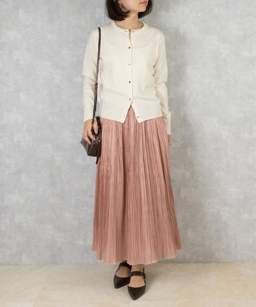 [RANDA] 【選べる丈感】ナロープリーツスカート