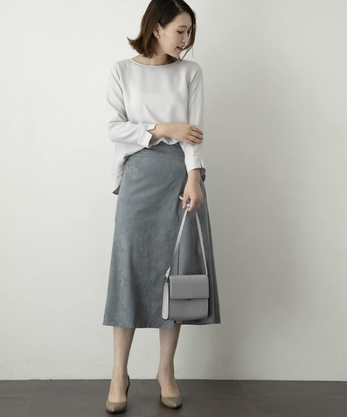 [URBAN RESEARCH ROSSO WOMEN] バック釦ブラウス