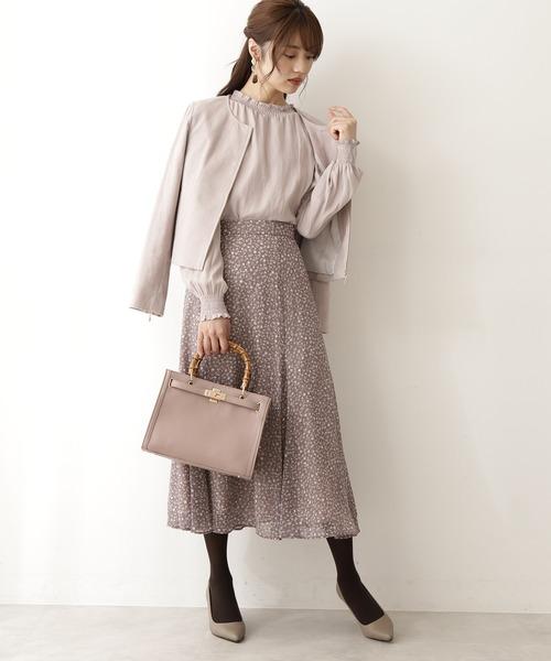 [PROPORTION BODY DRESSING] レオパードドットマーメイドスカート