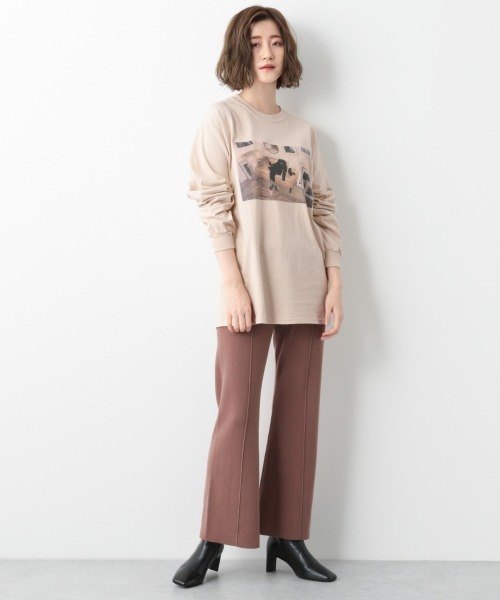 [apart by lowrys] Roberta ロングスリーブTシャツ 918009