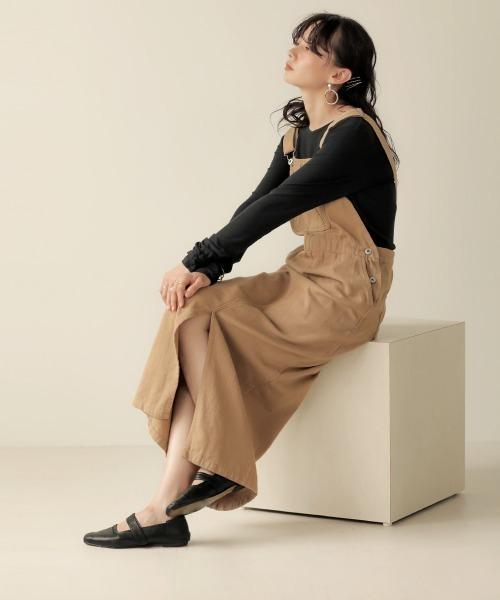 [Bou Jeloud] 【WEB限定】ツイルジャンパースカート