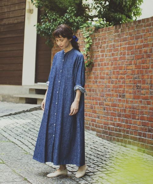 [studio CLIP] 《kazumiさんコラボ》裾揺れロングワンピース
