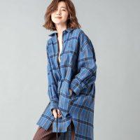 3大秋シャツを調査♡チェック・バンドカラー・チャイナシャツコーデ