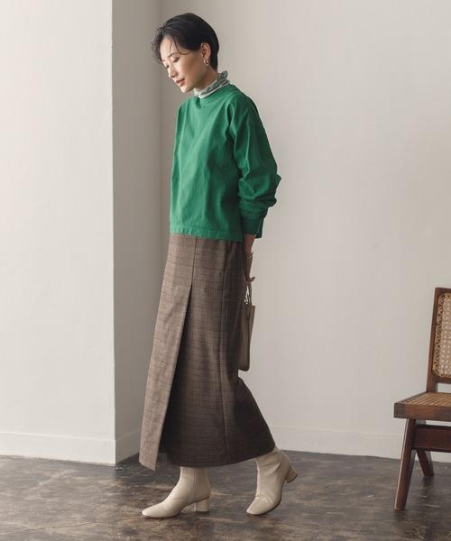 [ADAM ET ROPE'] ベンツディティールタイトスカート