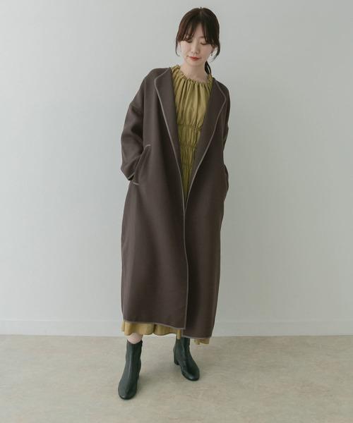 【名古屋】12月のワンピースを使った服装2