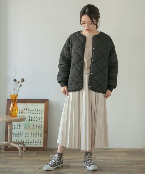 [ITEMS URBAN RESEARCH] フェイクスエードプリーツスカート